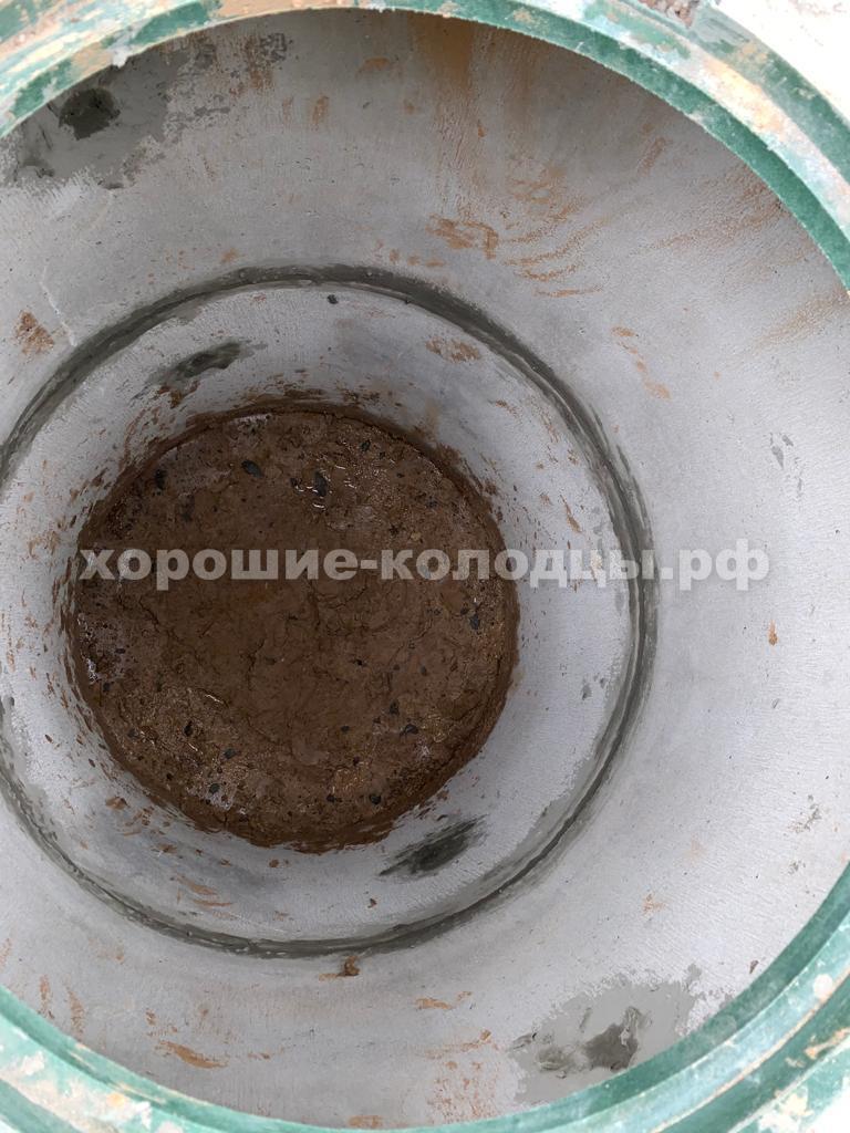 Септик переливной 2 и 3 колец в д. Успенское, Рузский р-н, Подмосковье