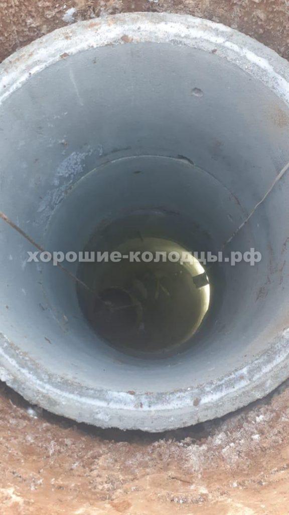 Колодец на воду 10 колец в д. Городище, Рузский р-н, Подмосковье.