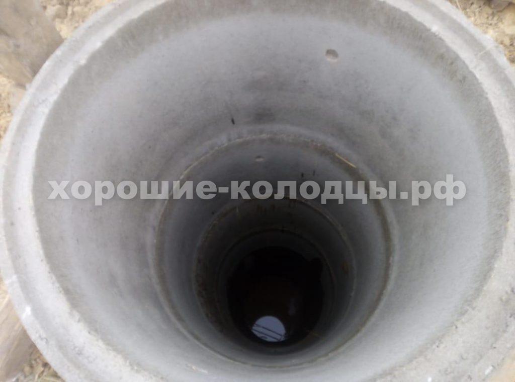 Колодец на воду 7 колец в д. Шульгино, Волоколамский р-н, Подмосковье.