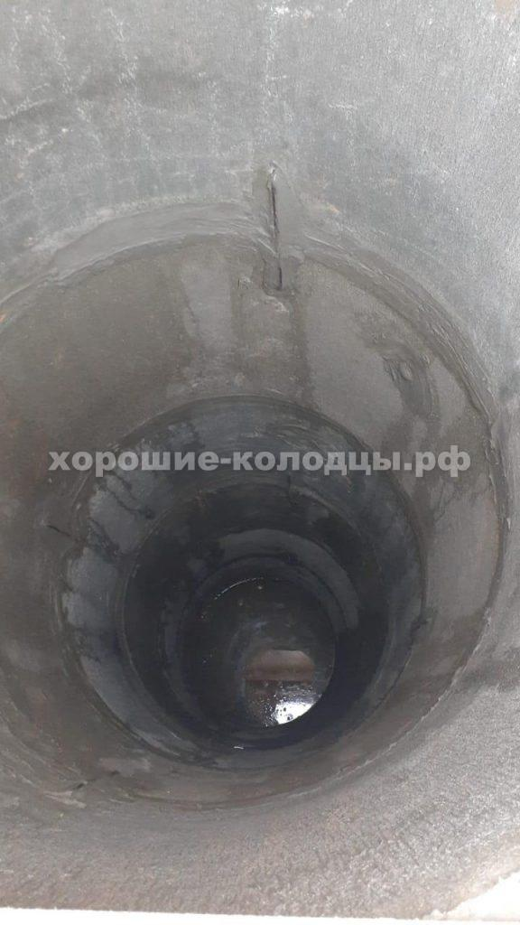 Колодец на воду 8 колец в д. Малеевка, Клинский р-н, Подмосковье.
