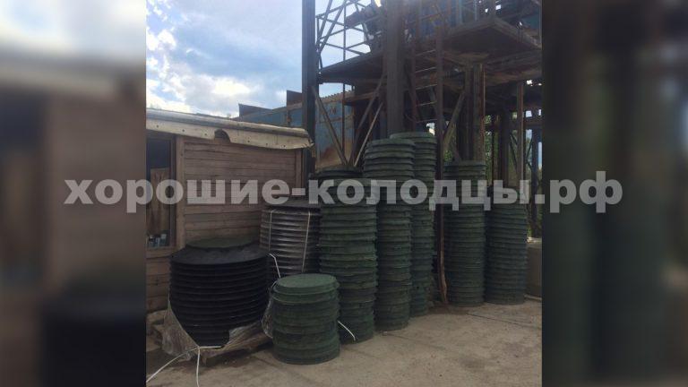 Наш завод по производству бетонных колец