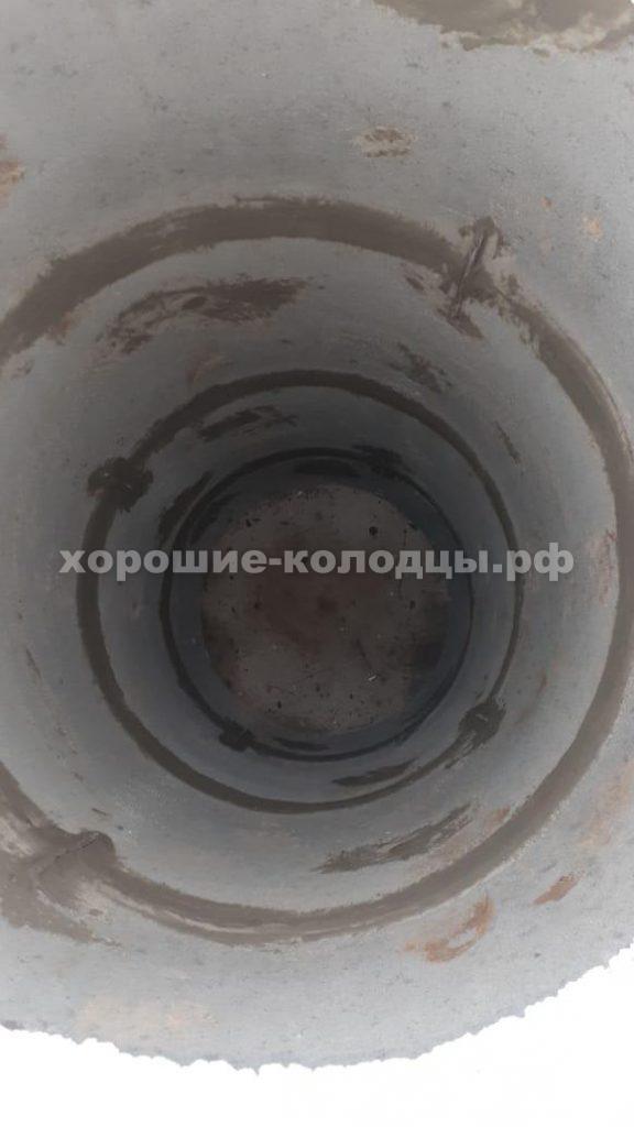 Септик переливной 4 и 4 колец в кп. Пятница, Волоколамский р-н, Подмосковье