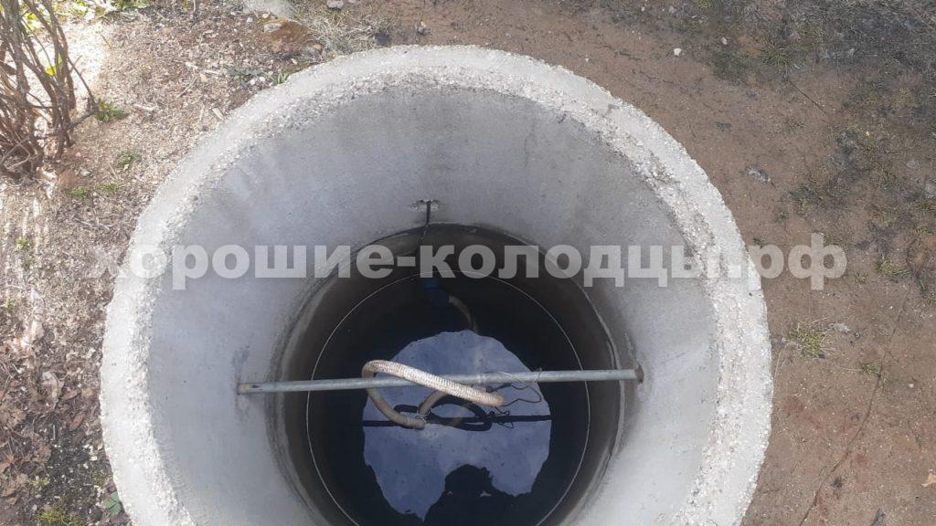 Чистка колодца в, СНТ Антоновка, Истринский р-н, Подмосковье.