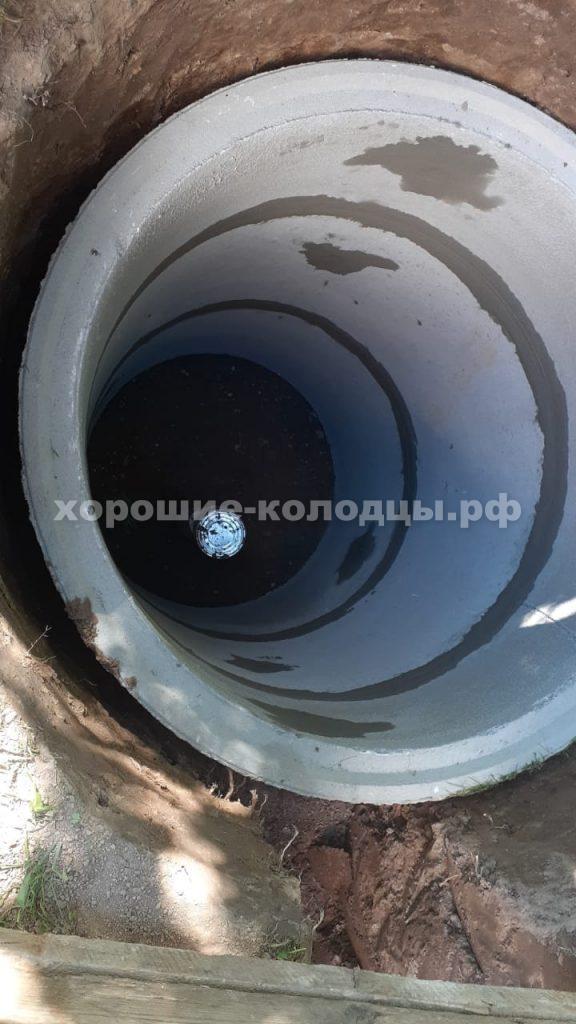 Кессон для скважины 3 кольца в д. Денисиха, Рузский р-н, Подмосковье