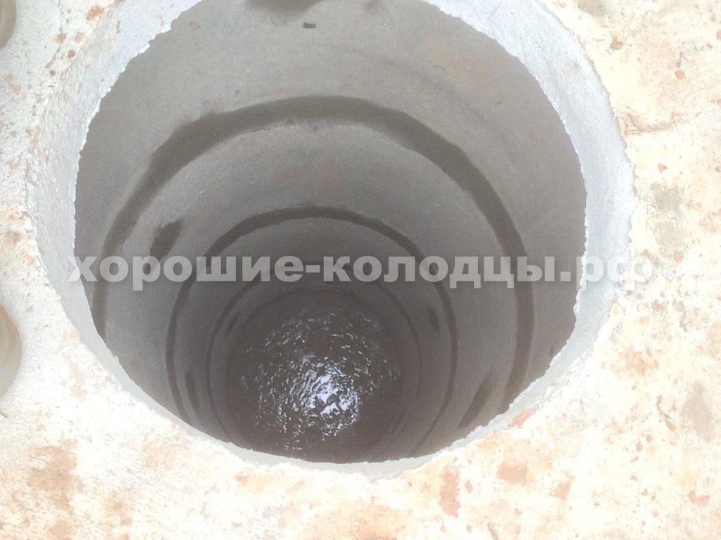 Септик переливной 4 и 6 колец в п. Агрогородок, Истринский р-н, Подмосковье