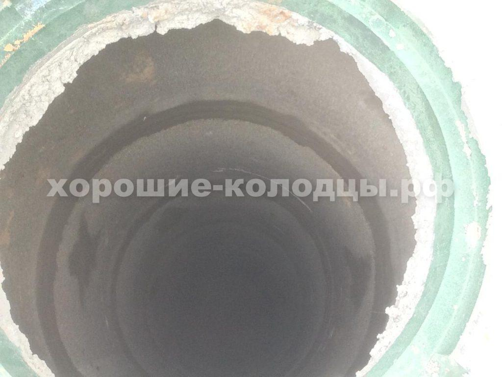 Дренажный септик 7 колец в д. Агрогородок, Истринский р-н, Подмосковье