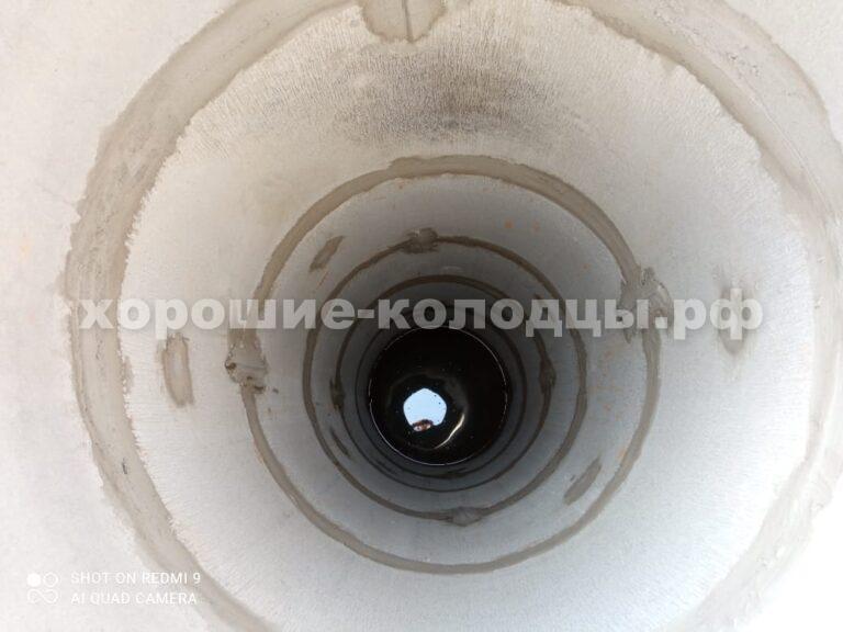 Колодец на воду 11 колец в КП Пятница, Волоколамский р-н, Подмосковье.