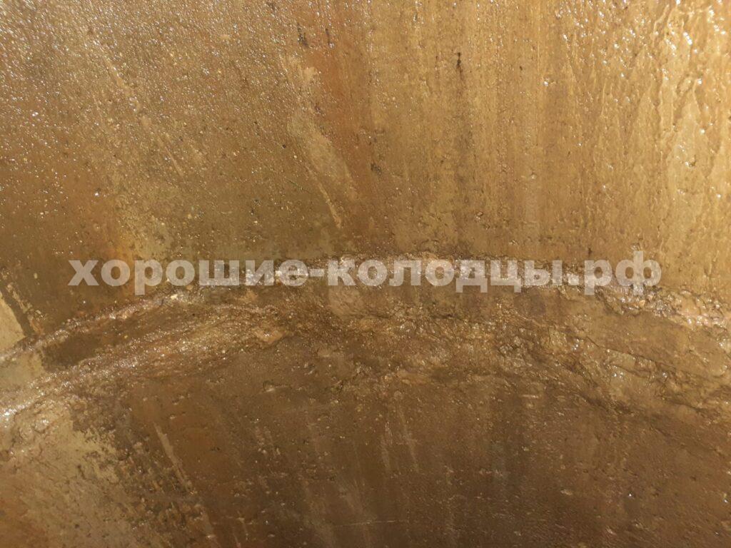 Чистка колодца 13 колец в СНТ Лесные Дали, Истринский р-н, Подмосковье.vvvvvvvvv