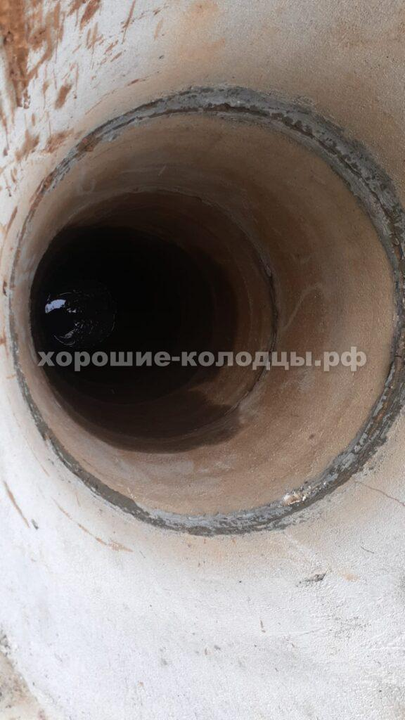 Углубление колодца на 2 кольца в СНТ Стройдормаш, Волоколамский р-н, Подмосковье.