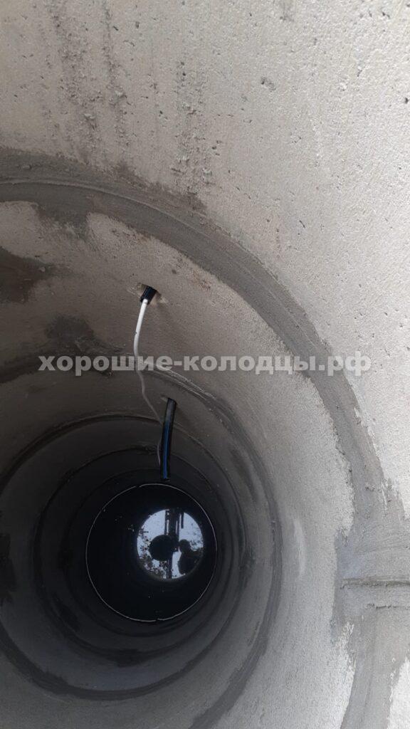 Подводка воды из колодца в дом с установкой насосом в СНТ Москваречие, Истринский р-н, Подмосковье